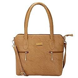 Solester Brown Trendy Women's Handbag