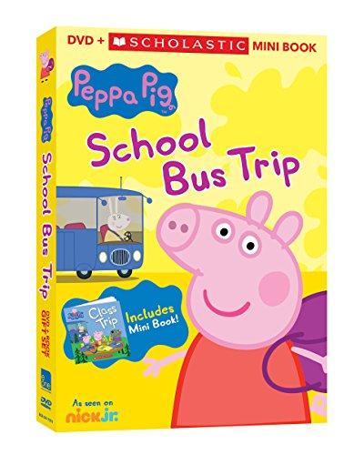 Peppa Pig: School Bus Trip w/Scholastic Mini Book Gift Set