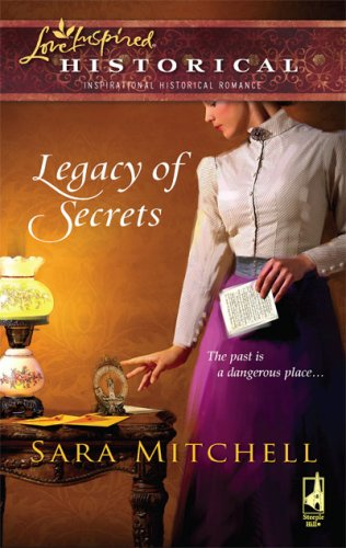 Image of Legacy of Secrets (Steeple Hill Love Inspired Historical #5)