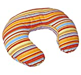 Dise�o de rayas de almohada multiuso para lactancia - (color naranja) y funda de almohada/coj�n de lactancia