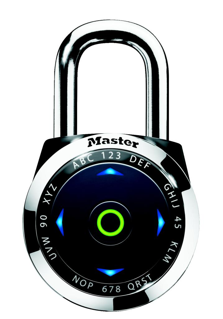 Electronic Pad Locks : Eeurdblk electronic combination padlock