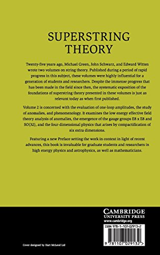 Superstring Theory 2 Volume Hardback Set: Superstring Theory: 25th Anniversary Edition: Volume 2 (Cambridge Monographs on Mathematical Physics)