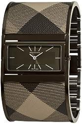 Burberry Women's BU4930 Reversible Grey Bangle Watch