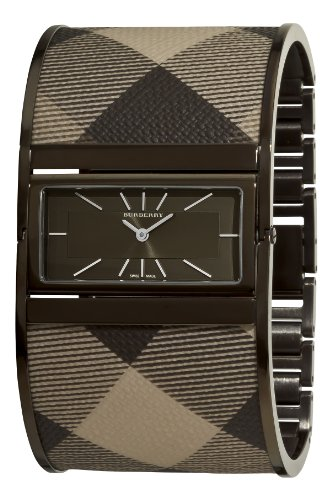 Burberry Women's BU4930 Reversible Grey Bangle Watch