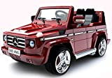 Mercedes G55 AMG SUV - Licensed 12v Electric Kids Ride on Jeep (Red)