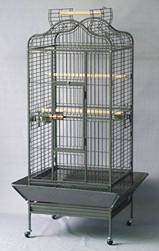 homey-pet-32x30x61-large-parrot-cage-open-playtop-black-hammer-spray