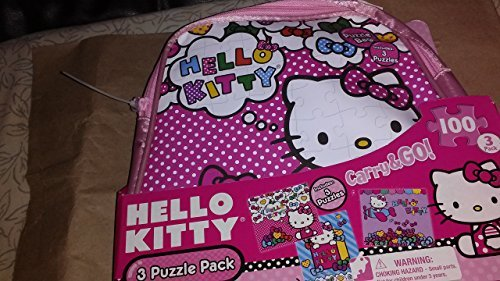 Hello Kitty 3 Puzzle Pack Carry&go - 1