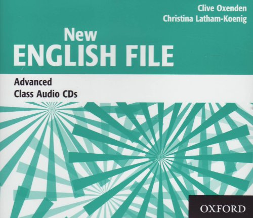 New English File Advanced: Class CDs (X3) (New English File Second Edition)