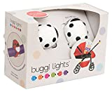 Buggi Lights BUGGIWBS - Luces LED, color blanco y negro