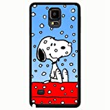 Samsung Galaxy Note 4 Case, Snoopy Theme Wonderful Hard Case Cover for Galaxy Note 4
