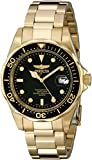 Invicta Men's Pro Diver GQ 8936 Gold Tone Stainles-Steel Quartz Watch with Beige Dial