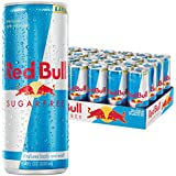 Red Bull Sugarfree, Energy Drink, 8.4-Fluid Ounce Cans, 24 Pack