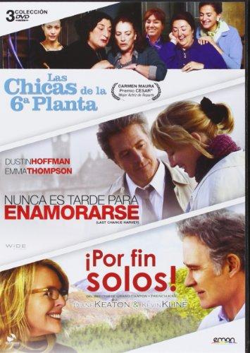 Pack: ¡Por Fin Solos! + Nunca Es Tarde Para Enamorarse + Las Chicas De La Sexta Planta [DVD]