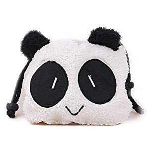 [Fujifilm Instax Mini Case]- CAIUL Cute Panda Comprehensive Protection Camera Case Bag With Soft Plush Material For Instax Mini 7s 8 90 25 50s 70, Instax SP-1, Polaroid Z2300, Pringo 231, LG PD233/239