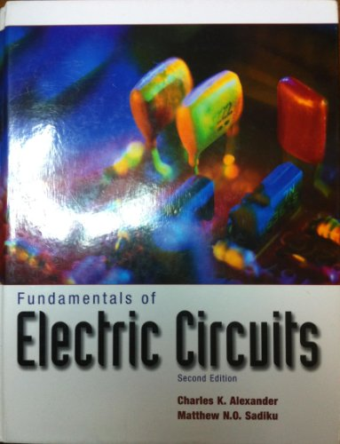 Fundamentals Of Electric Circuits 2Nd Edition