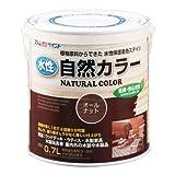アトムハウスペイント 水性自然カラー(天然油脂ステイン) 0.7L オールナット