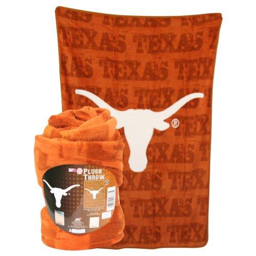 Ncaa Plush Throw Blanket - Texas Long Horns front-500295
