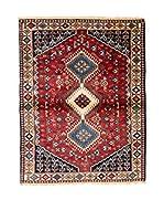 RugSense Alfombra Persian Yalameh Rojo/Beige/Azul 150 x 98 cm