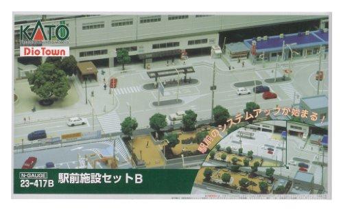 Nゲージ 23-417B 駅前施設セットB