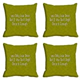 meSleep YOLO Cushion Cover (16x16)