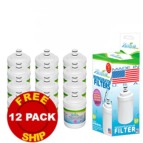 (12 Pack) Jenn-Air Ukf6001Axx Compatible Refrigerator Water & Ice Filter By Zuma Water Filters (Opfm)