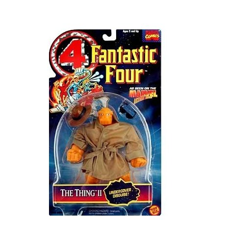 Fantastic Four Thing II Action Figure - 1