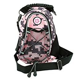 CMC Scottsdale Pink Digi Camo Midi Day Pack with Hibiscus Medallion