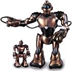 WowWee Robosapien V2 Full Function Humanoid Robot & Mini RSV2 Combo with Remote Control (bronze)