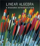 Linear algebra:a modern introduction