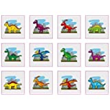 Dinosaur Temporary Tattoos - (Pack of 36)