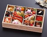 京都しょうざん 生おせち料理 2017 一段重 鷹ヶ峰ミニ 盛り付け済み 生おせち 冷蔵 お届け日:12月31日