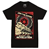 Mad Engine Men's Revolution T-Shirt, Black, X-Large