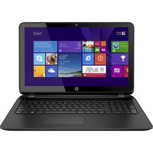 HP 15-f215dx 15.6-inch Laptop PC – AMD Quad-core A8 / 4GB Memory / 750GB HD / DVD±RW/CD-RW / HD Webcam / Windows 8.1 64-bit (Black)