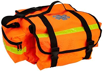 "Primacare KB-RO74-O Trauma Bag, 7"" Height x 17"" Width x 9"" Depth, Orange from Primacare"