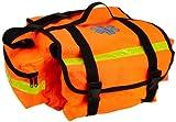 "Primacare KB-RO74-O Trauma Bag, 7"" Height x 17"" Width x 9"" Depth, Orange"