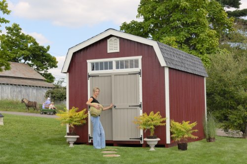 10 x 12 Woodbury Colonial Garden Shed Panelized Kit