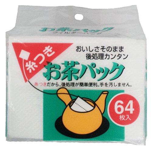 糸つきお茶パック 64枚