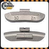 30g Schlaggewichte Auswuchtgewichte Wuchtgewichte für Stahlfelgen 100 Stück
