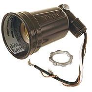 Do it Single Weatherproof Outdoor Lamp-holder Carded-BRZ SINGLE LAMPHOLDER