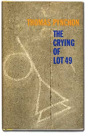 a thermodynamic reading of the crying of lot 49 Entropy is the basis of the world that pynchon creates in the crying of lot 49 questions about communication and interpretation that oedipa encounters are all connected.
