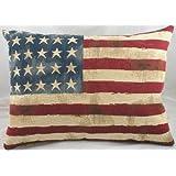 USA Stars & Stripes Kissen, Groß, von Evans Lichfield, Flagge Amerika 45 x 66 cm