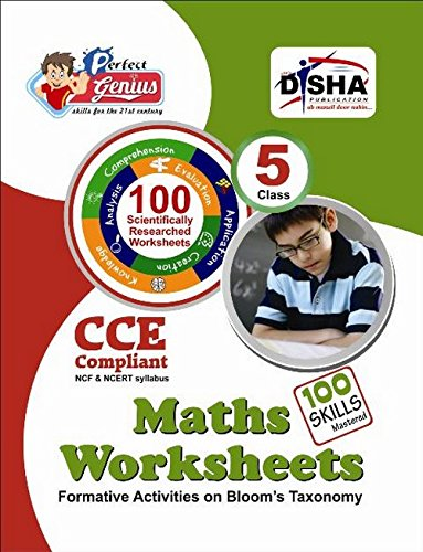 Perfect Genius Mathematics Worksheets for Class -  5: Based on Bloom's Taxonomy