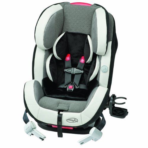 Evenflo Symphony 65 E3 All in One Car Seat, Levi