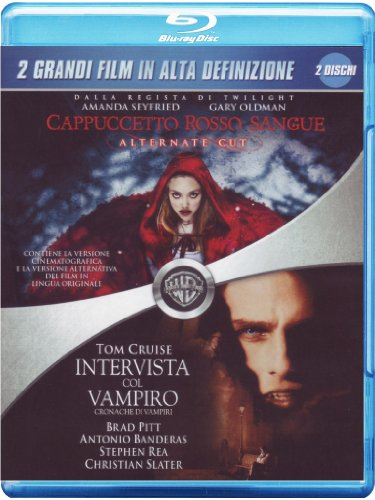 Cappuccetto rosso sangue + Intervista col vampiro [Blu-ray] [IT Import]