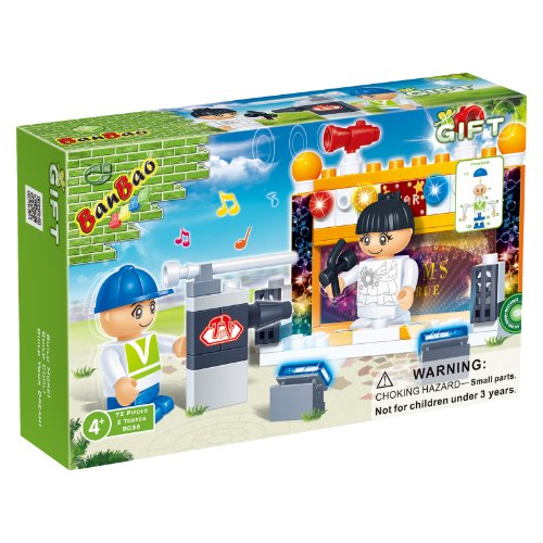 BanBao Concert Building Set, 72-Piece - 1
