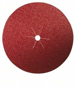 Bosch 2609256B48 Disques abrasifs papier pour Ponceuses à serrer trou central Diamètre 125 Grain 40 Lot de 5 feuilles