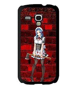 Printvisa 2D Printed Girly Designer back case cover for Samsung S3 I8190 Mini - D4600