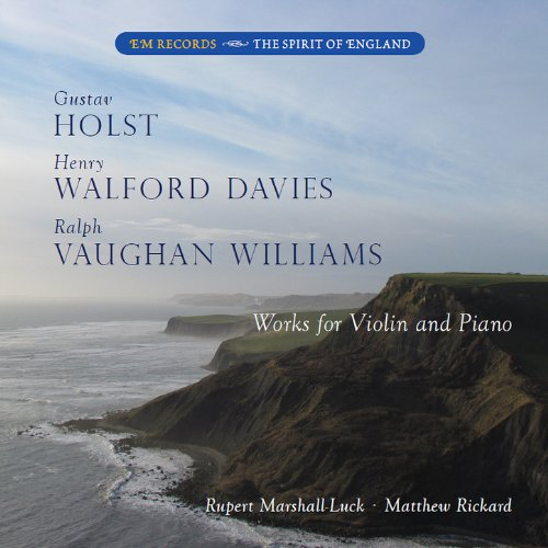 Buy Holst, Walford Davies & Vaughan Willliams: Works for Violin and Piano From amazon