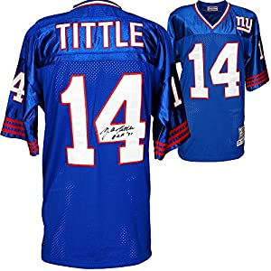 Y.A. Tittle York Giants Autographed Jersey - Autographed NFL Jerseys from Sports Memorabilia
