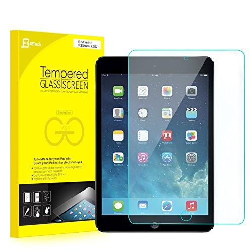 JETech® iPad Mini Pellicola Protettiva ultra resistente in Vetro Temperato per Apple iPad Mini 1/2/3 Tutti i Modelli